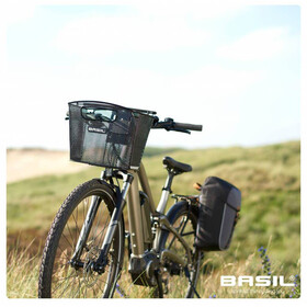 Basil Miles Daypack - Sac porte-bagages - 14l bleu/noir